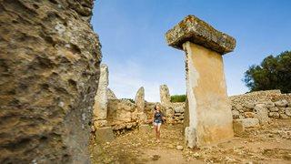 Megalithe auf Menorca