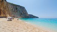 Porto Katsiki Strand auf der Ionischen Insel Lefkada