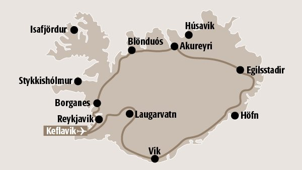 Island kennenlernen