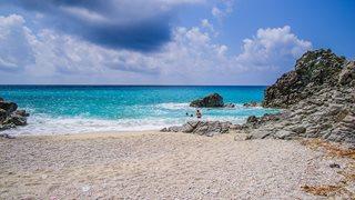 Der Strand von Zambrone