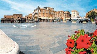 Der Hauptplatz von Pizzo