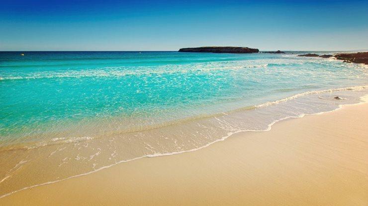 Der Strand von Binigaus